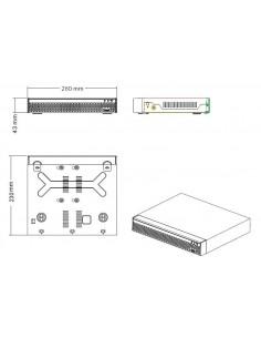 Rejestrator CCTV 4 kanały do kamer IP